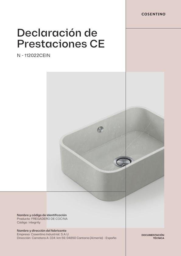 DECLARACIÓN DE PRESTACIONES  INTEGRITY_ES