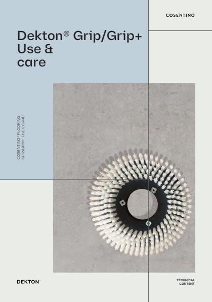 Dekton Grip+ cleaning & maintenance ENG