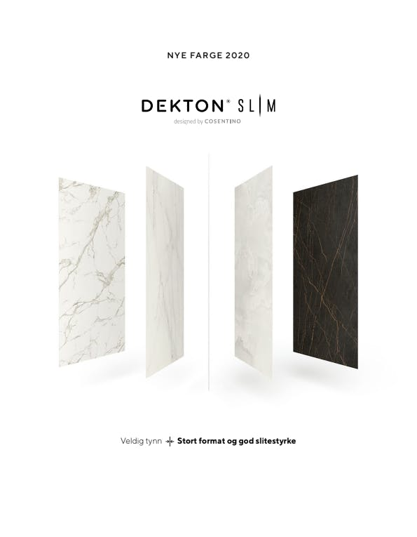 Dekton Slim Brochure NOR