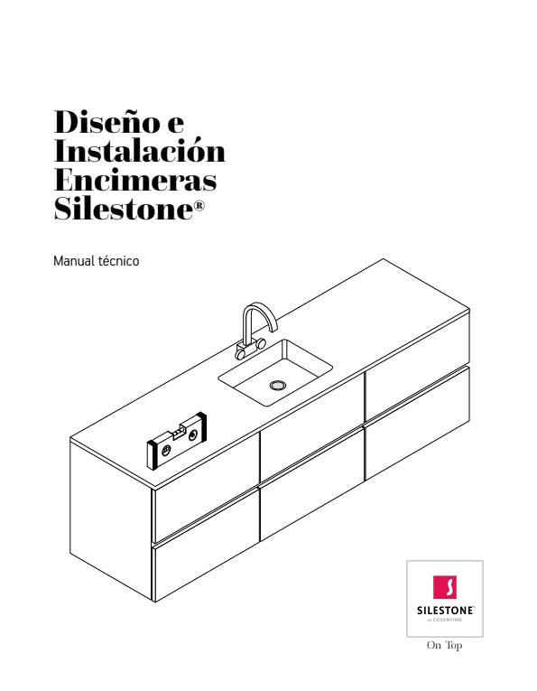 Mnual de diseño e instalación encimeras Silestone