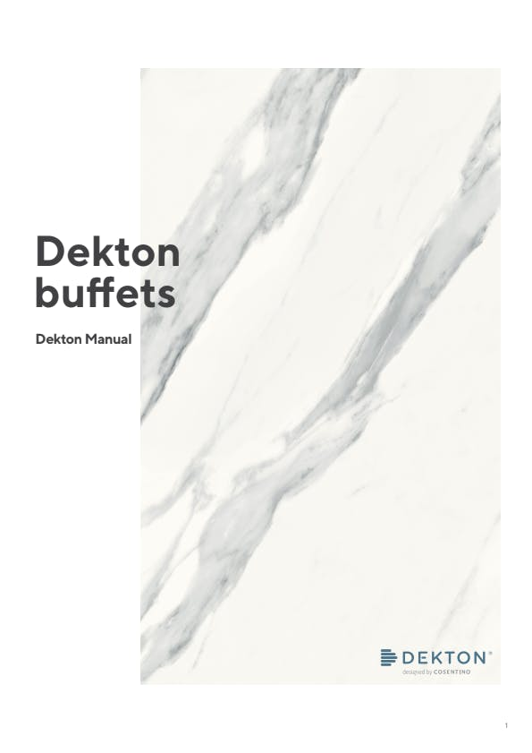 [DK] Food Services Manual (ES) Buffets