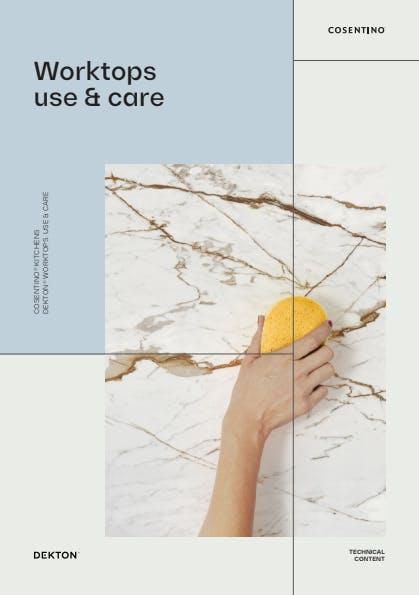 Dekton Manual de Limpeza e manutenção para Bancadas de cozinha PT