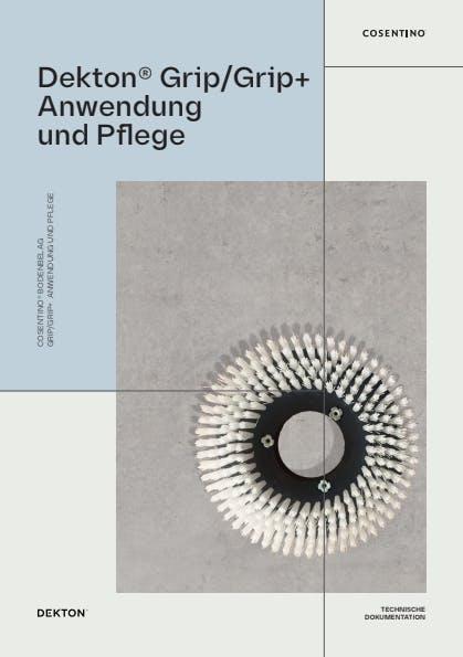 Reinigung und Pflege von Dekton Grip+ (DE)