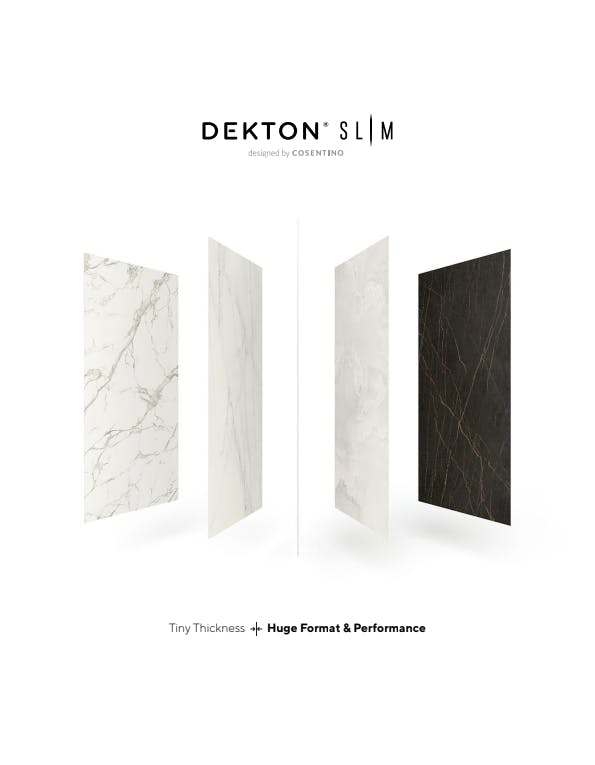 Folleto Dekton Slim  - ES