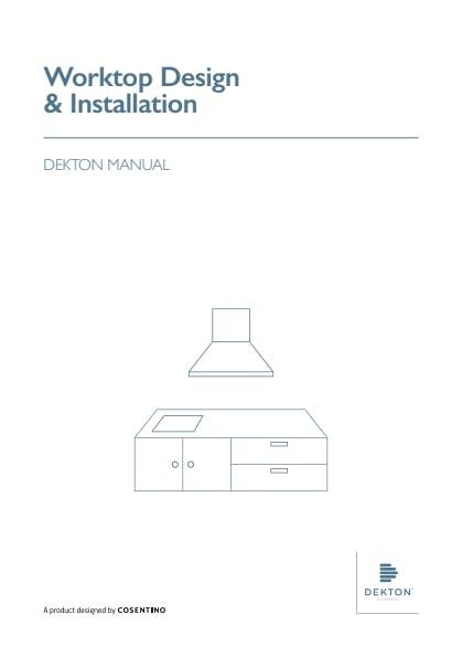 Manual de instalação de bancadas Dekton PT