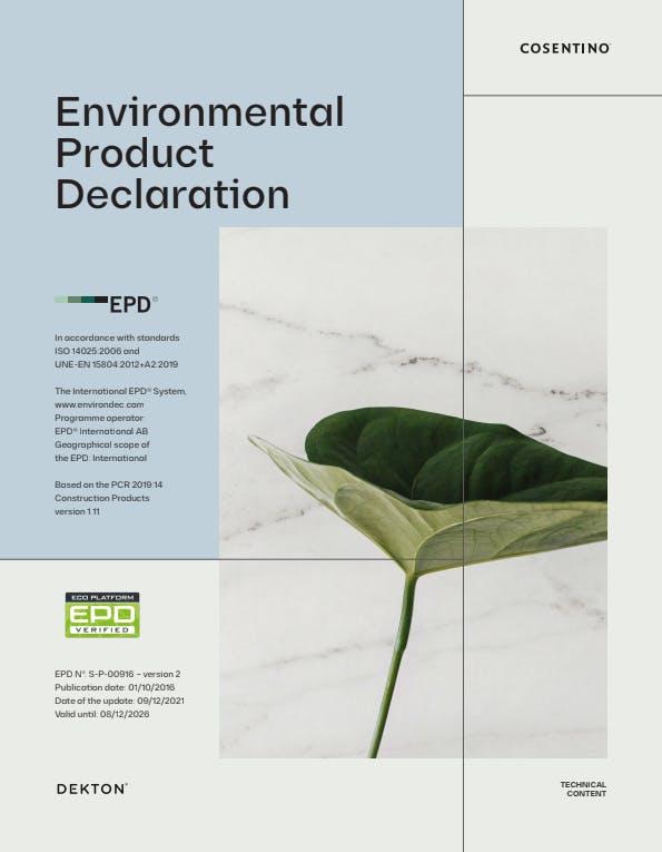 EPD Dekton EN