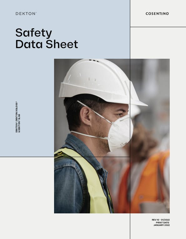 Dekton Safety Data Sheet 2018 ENG