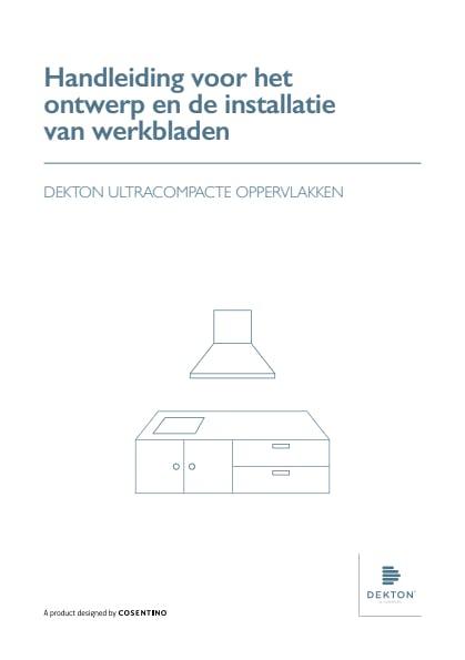 Handleiding voor het ontwerp en de installatie van werkbladen Dekton DU