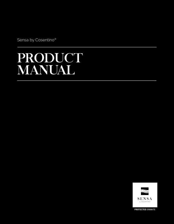 Sensa Product Manual EN