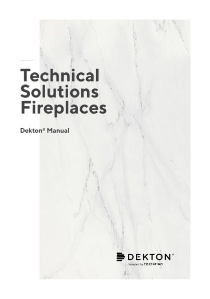 Fireplaces Manual Dekton EN