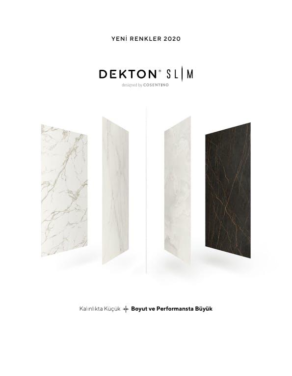 Dekton Slim Brochure TR