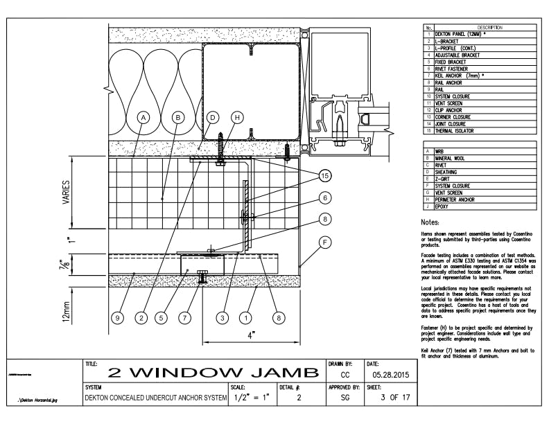 DEKTON Detail 02  Window Jamb EN