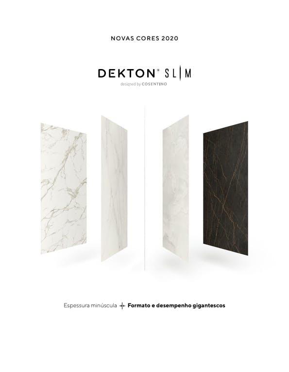 Folheto Dekton Slim  - PT