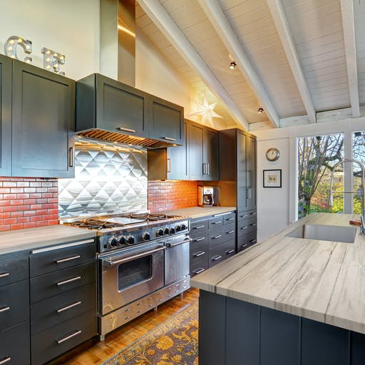 Aged Timber Kitchen