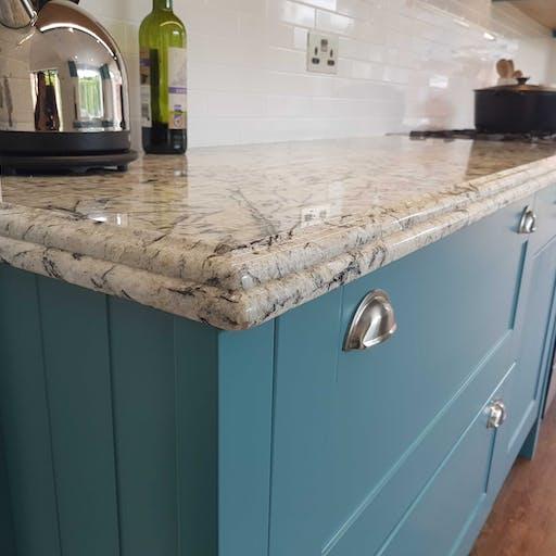 Residential Kitchen - Sensa Glacial Blue