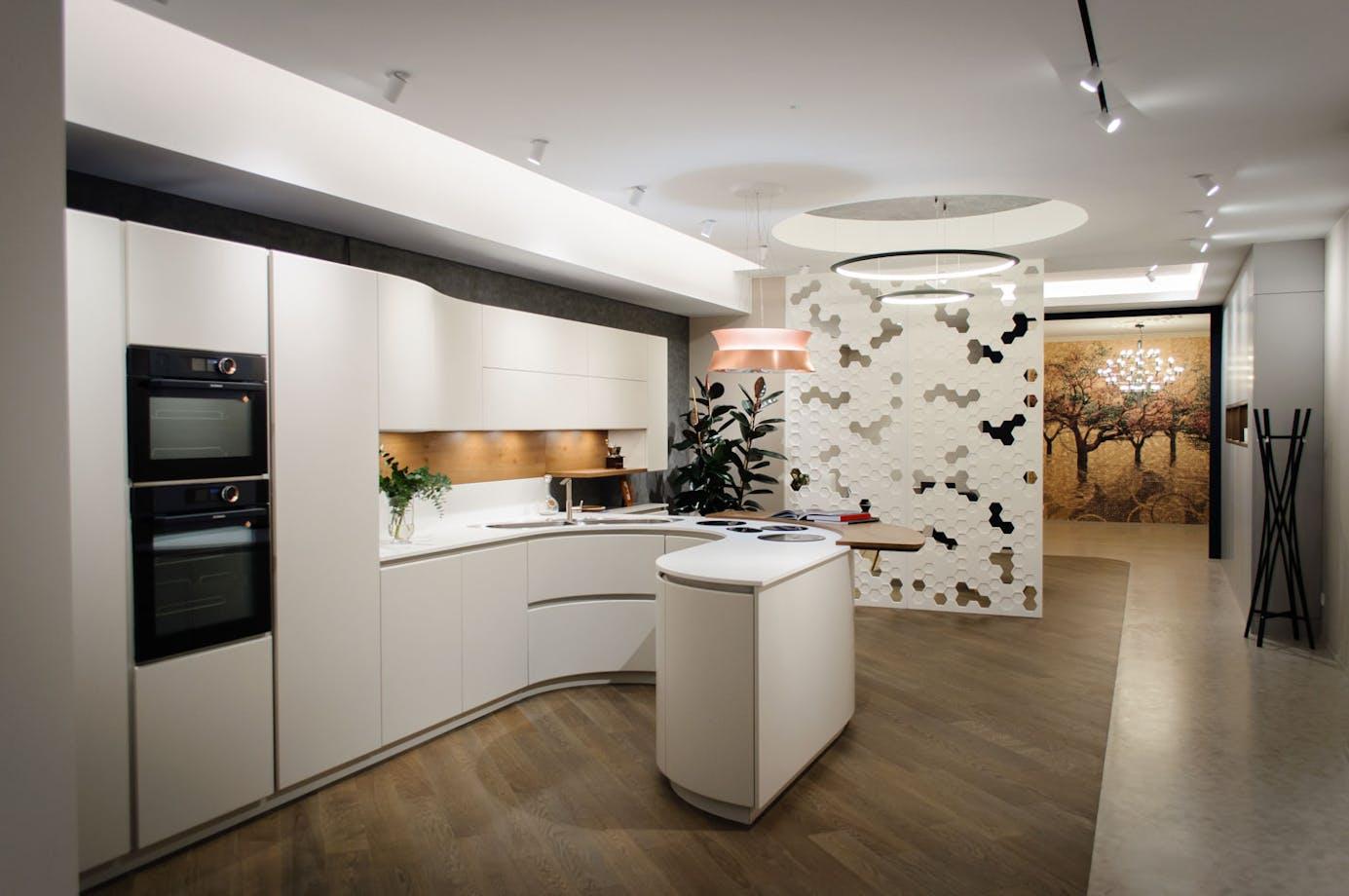 Exposición de cocina modelo Artika de PEDINI