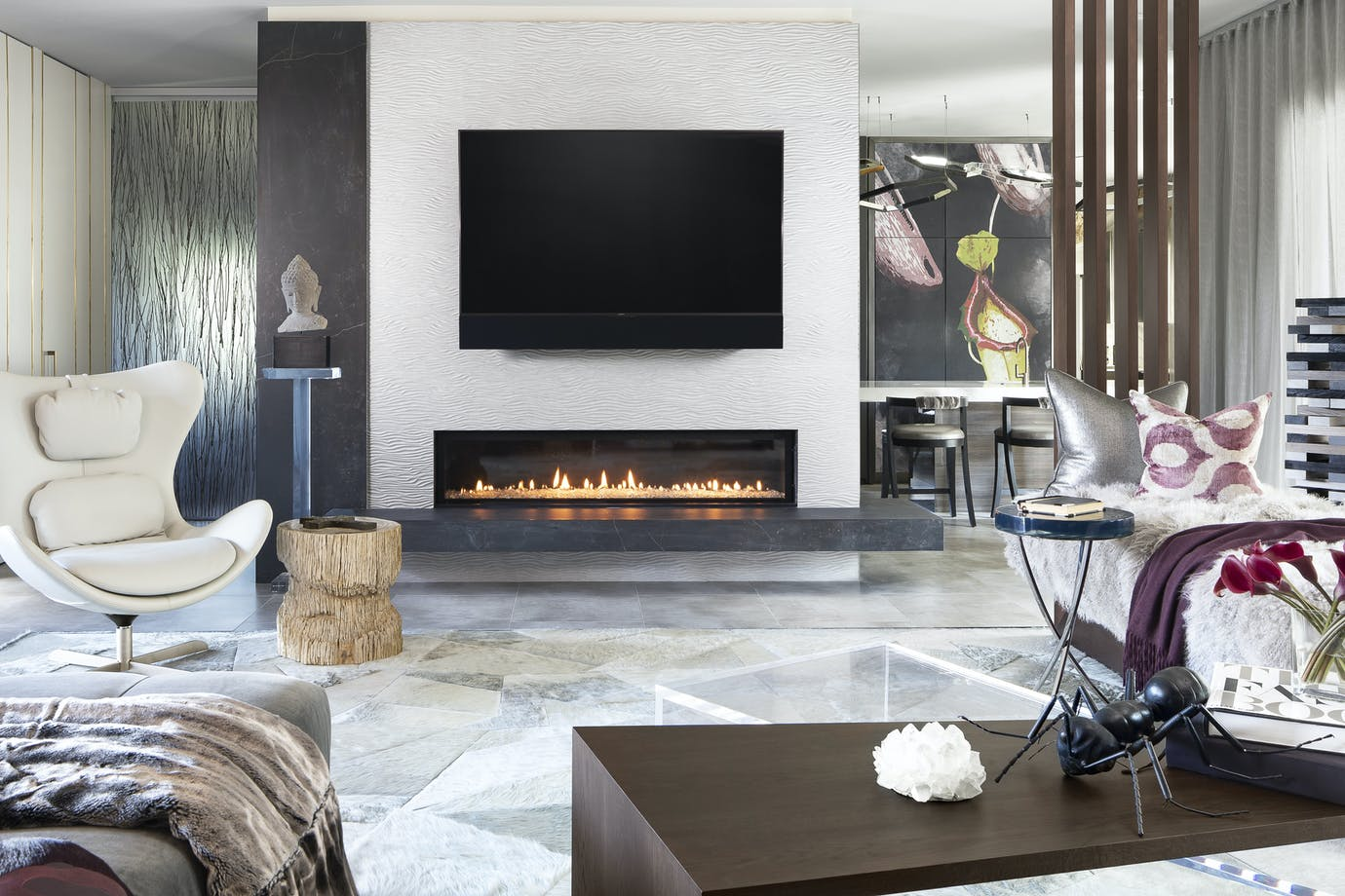 Marc Thee House Fireplace