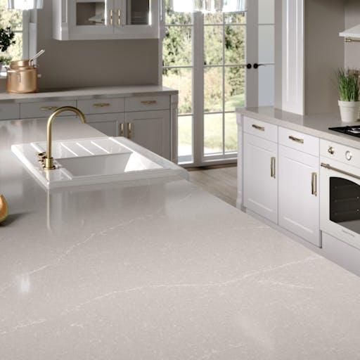 Silestone Kitchen HD - Desert Silver