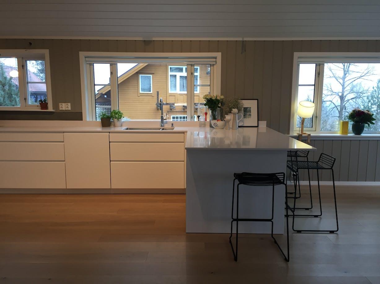 Kjøkken Gråkamveien - Holmenkollen