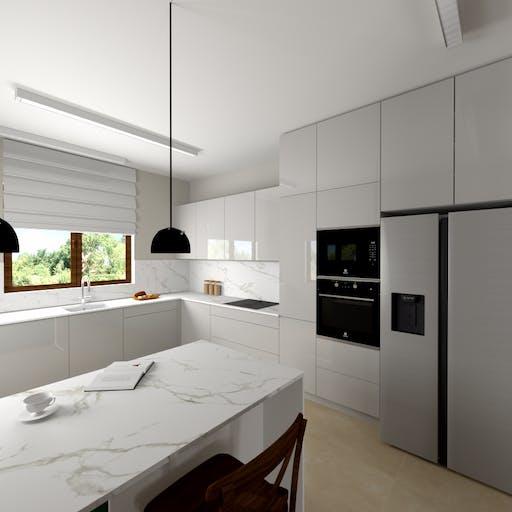 Kuchnia w domu pod Krakowem