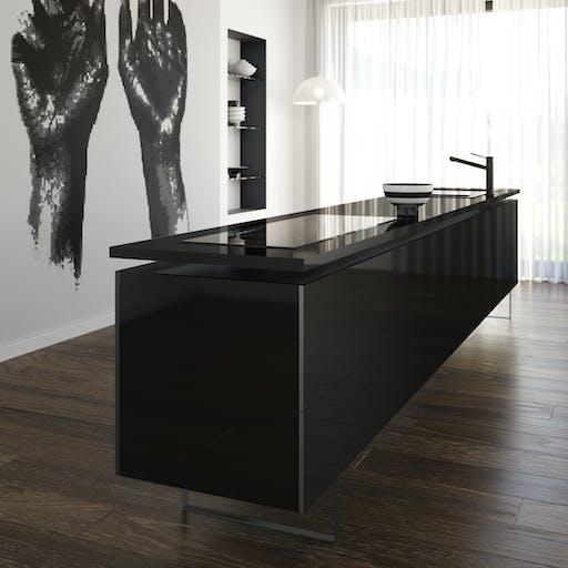 Silestone Kitchen EU - Iconic Black