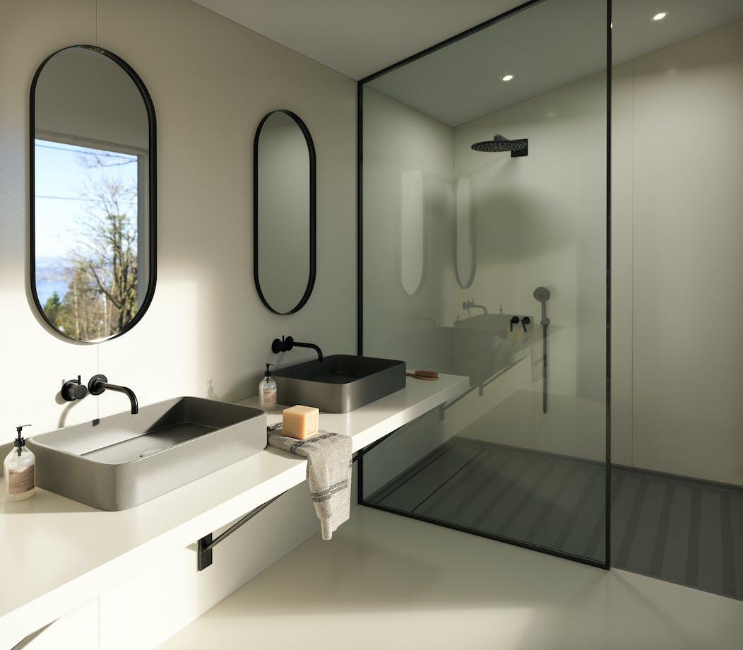 Silestone Bathroom - Faro White v2