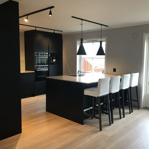 Modern Kjøkken Mortensrud