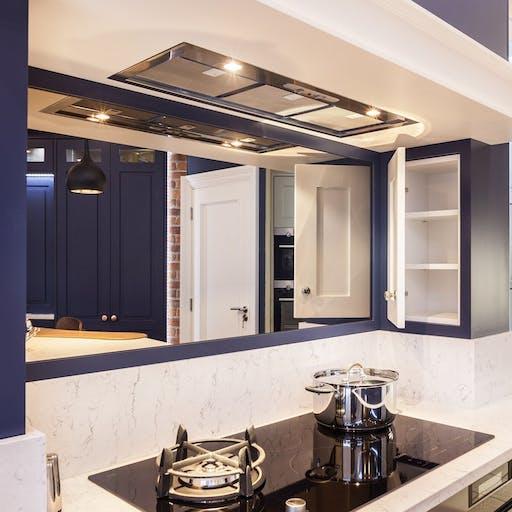 Celtic Interiors - Residential Kitchen - White Arabesque