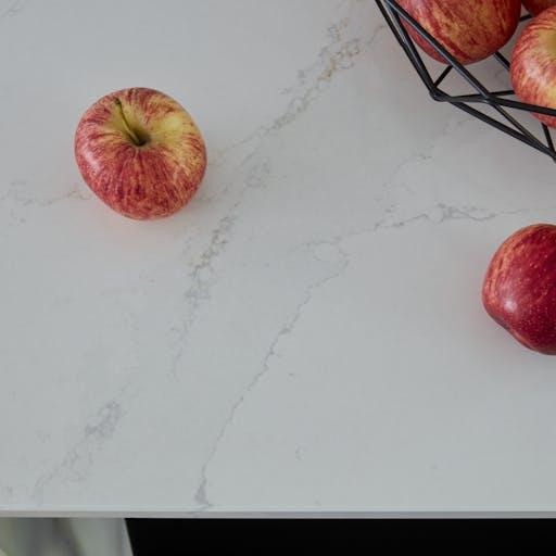Petts Wood kitchen featuring Silestone Calacatta Gold