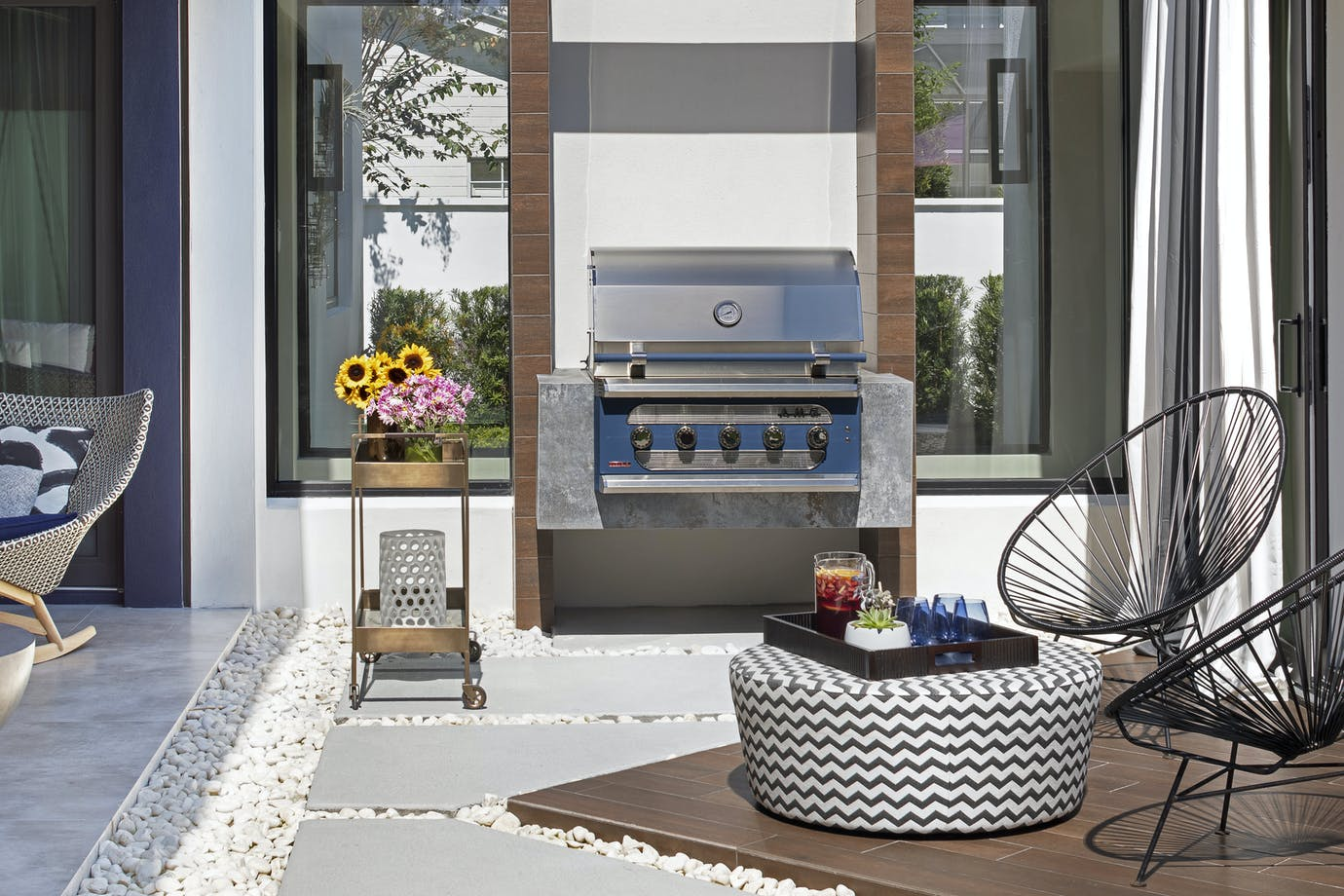 Marc Thee House Orix Outdoor Barbecue