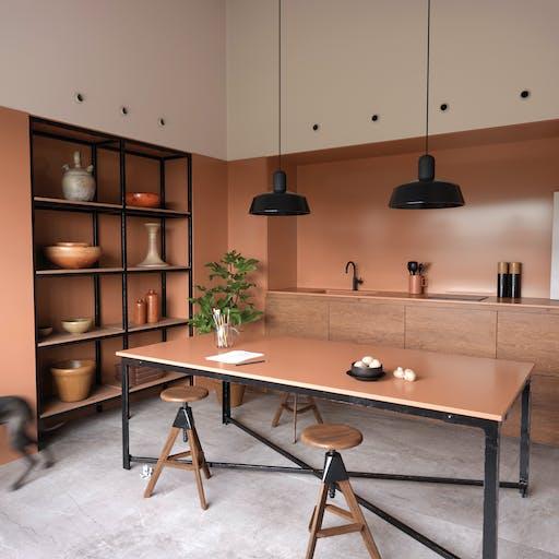 Silestone Kitchen - Arcilla Red