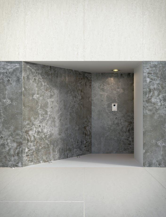 Dekton Fachada Concepto - Orix -  Blanc Concrete