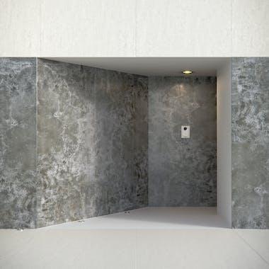 Image of dekton fachada concepto orix blanc concrete in Facader - Cosentino