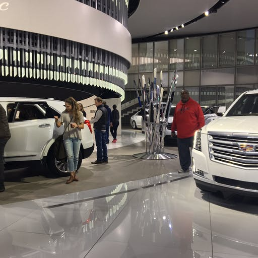 Cadillac Auto Show
