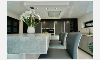 12MMM Dekton Bergen X-Gloss Kitchen Worktop
