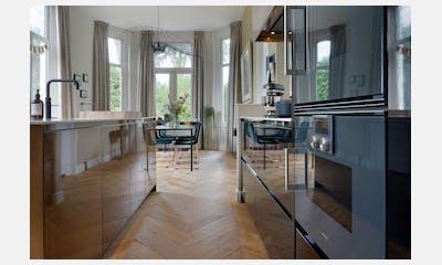 Moderne keuken op maat met Dekton Bergen blad