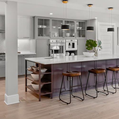 Villa Silestone Blanco Zeus Kitchen Countertop