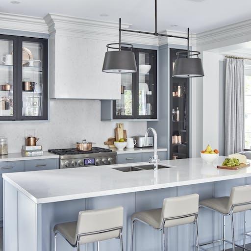 Snowy Ibiza Silestone Kitchen