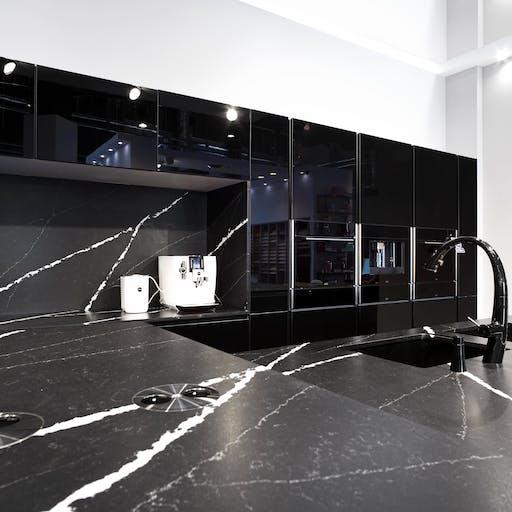 Marquina modern kitchen