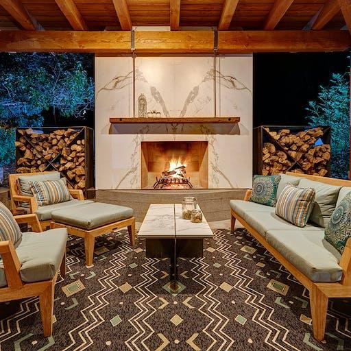 Dekton Sail Lounge by Nar Design Group