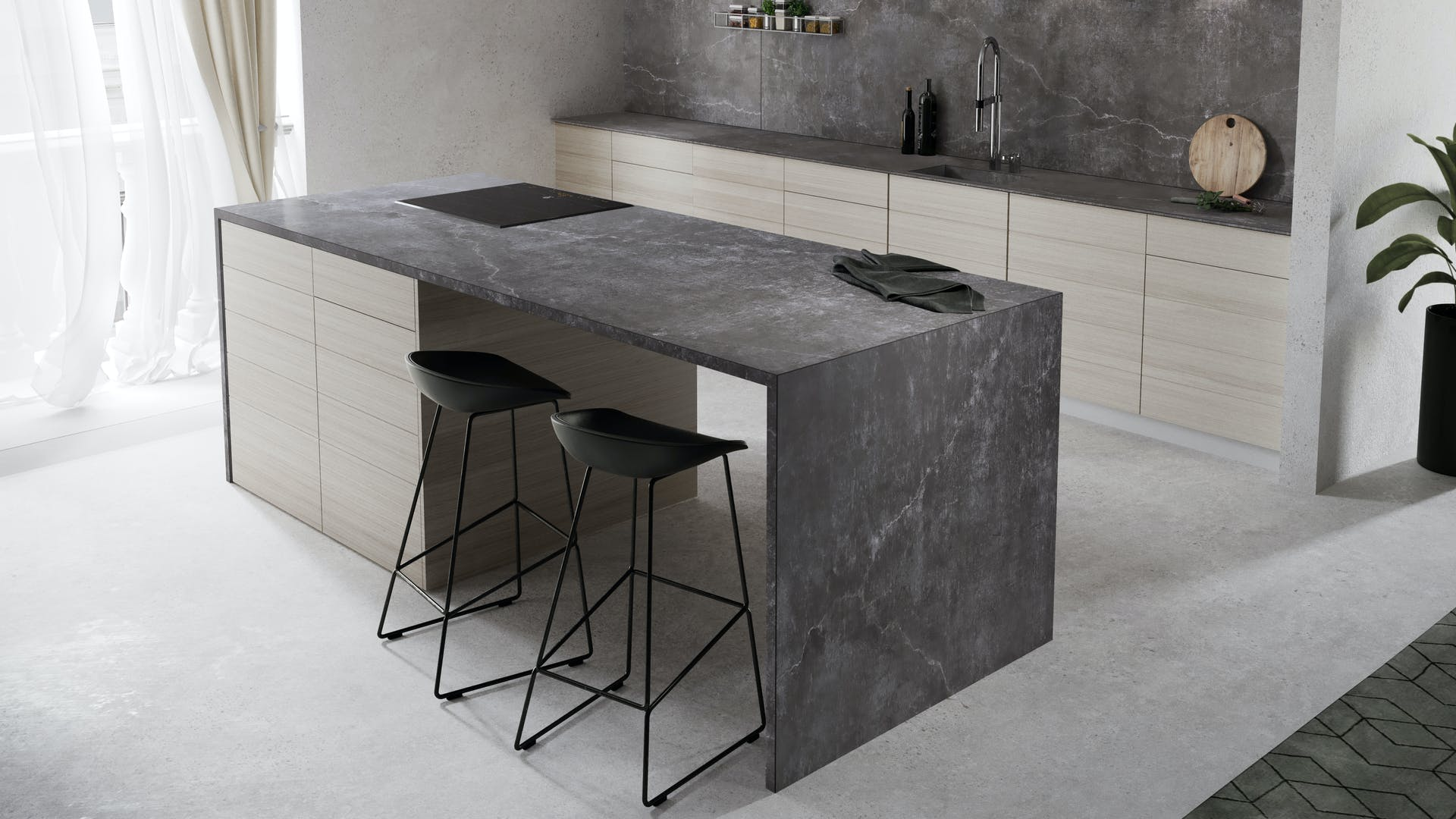 dekton laos by cosentino cosentino deutschland. Black Bedroom Furniture Sets. Home Design Ideas