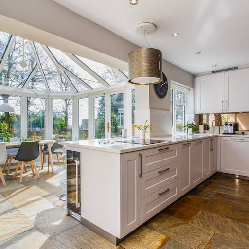 Colliers Kitchens - Residential Kitchen - Snowy Ibiza