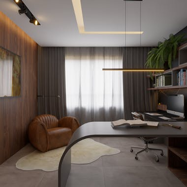 Image of home office mr in Pavimentos - Cosentino