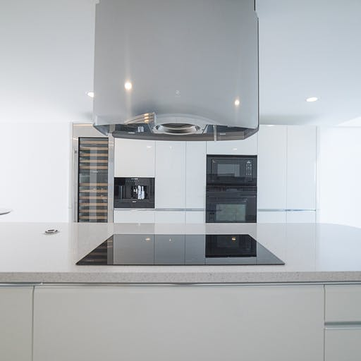 White project by Scavolini