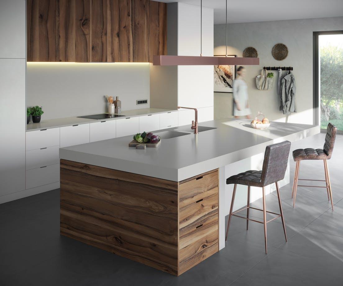 Silestone Kitchen - Cincel Grey