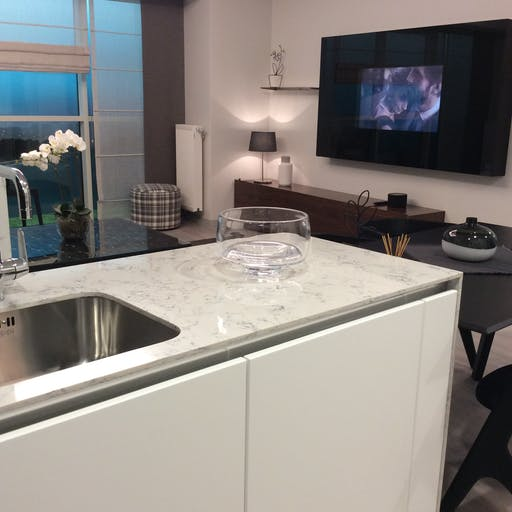 Silestone Lyra Kitchen Countertop