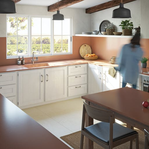 Silestone Kitchen v2 - Arcilla Red