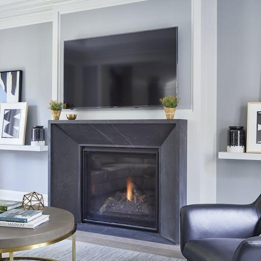 Kelya Dekton Fireplace