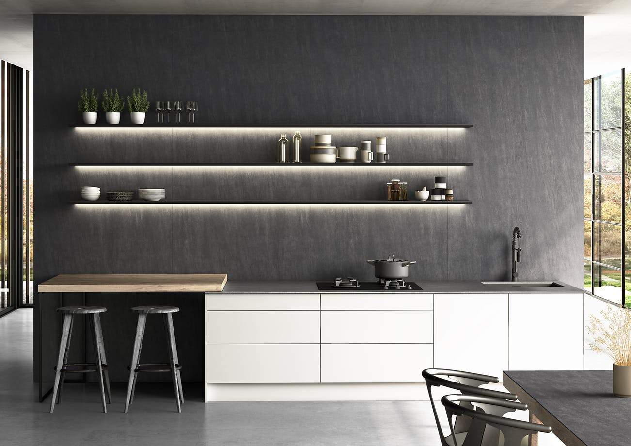 Dekton Slim Kitchen - Bromo