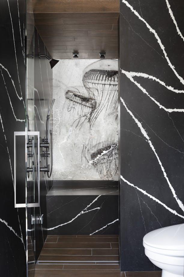Marc Thee House Eternal Marquina Bathroom